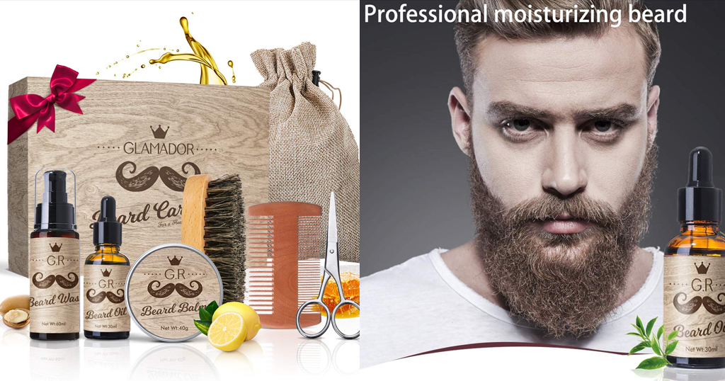 8-in-1 Beard Grooming Kit Only $16.18 Shipped on Amazon (Regularly $24.89)
