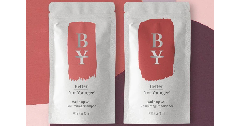 3 FREE Better Not Younger Hair Care Samples