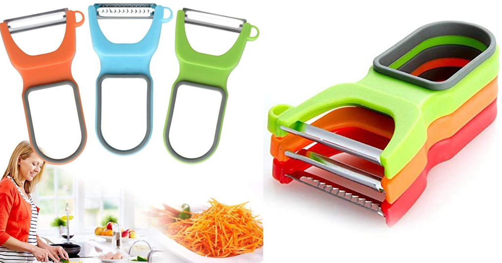3 PCS Stainless Peeler Only $5.99 Shipped on Amazon (Regularly $19.96)