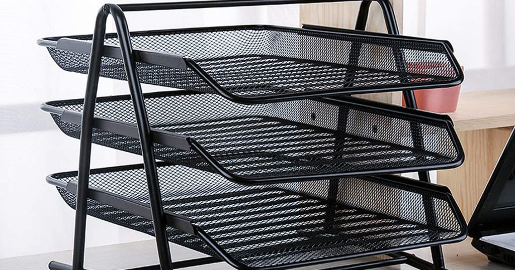 3 Trays Desktop Document Organizer Only $10.39 Shipped on Amazon (Regularly $15.99)