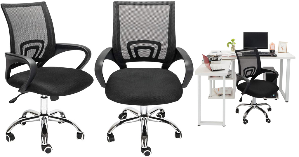 Adjustable Office Swivel Chair Only $75 Shipped on Amazon (Regularly $249.99)