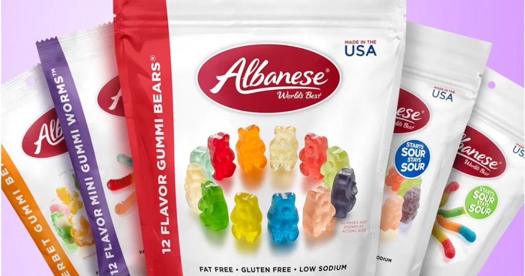 Albanese World's Best Gummi Bears 5-Pound Bag Just $11.50 Shipped on Amazon