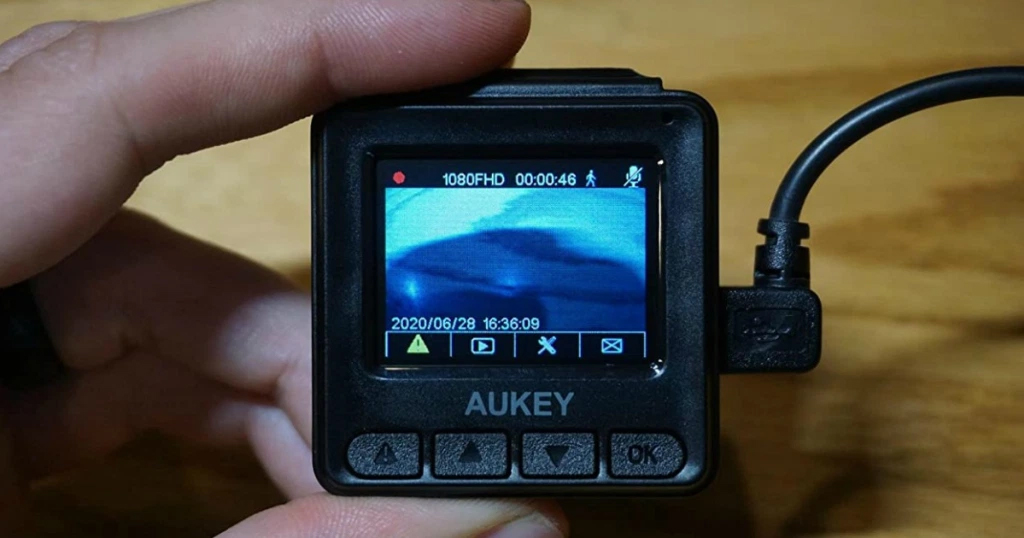 Aukey Mini Dash Cam Only $26 Shipped on Amazon | Hundreds of 5-Star Reviews