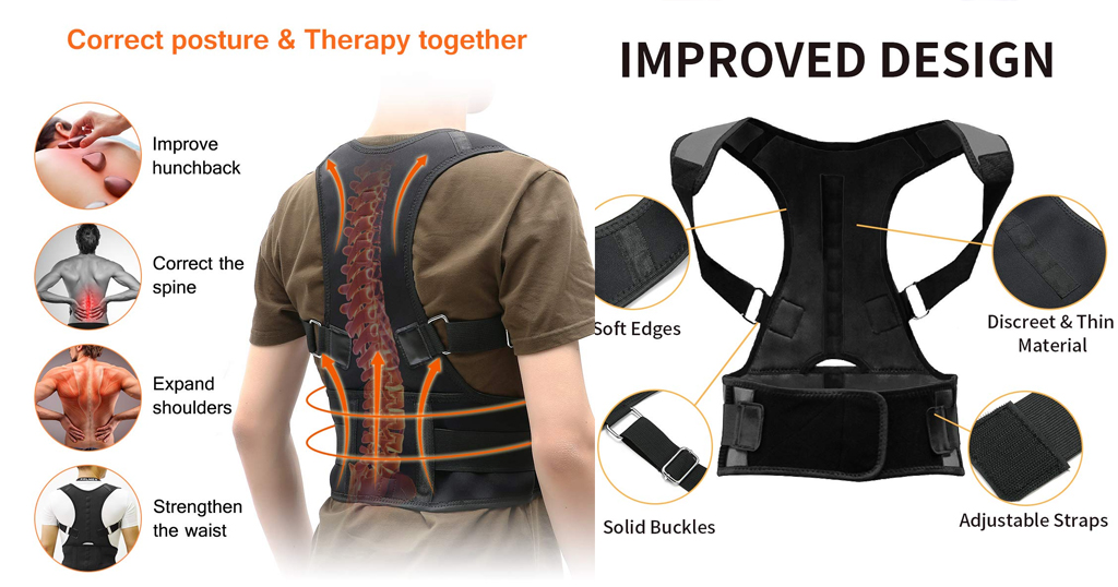 Back Brace Posture Corrector for Men and Women Only $11.99 Shipped on Amazon (Regularly $19.99)