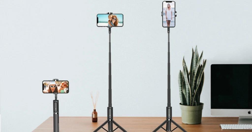 Bluetooth Selfie Stick and Tripod Only $18 Shipped on Amazon (Regularly $25.99)