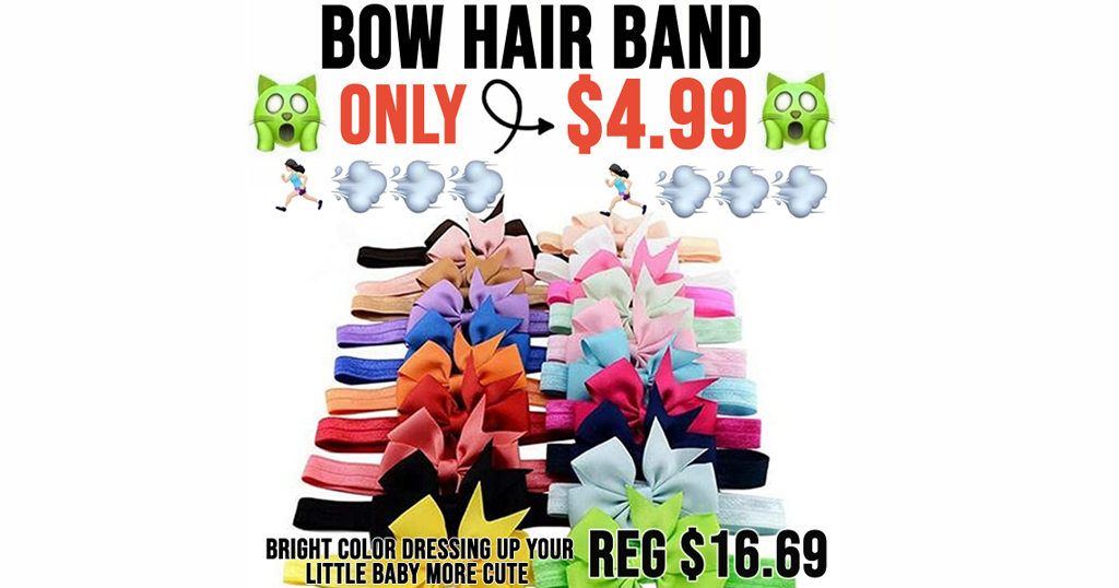 Bow Hair Band Only $4.99 Shipped on Amazon (Regularly $16.69)