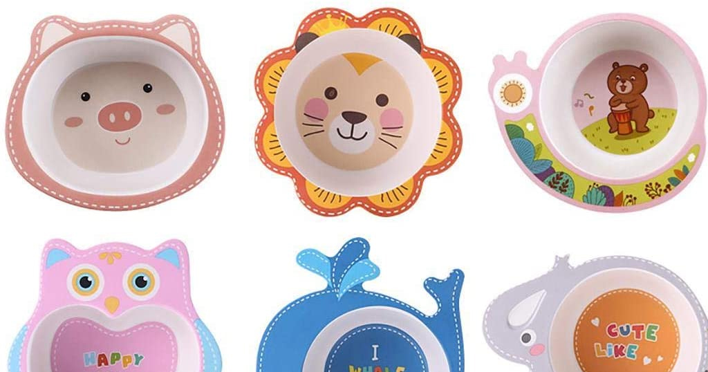 Cartoon Cute Animal Shape Feeding Dinner Bowl Only $8.39 Shipped on Amazon (Regularly $27.96)