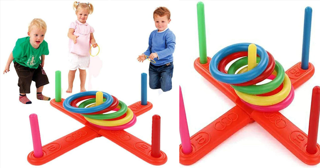 Children Throwing Hoop Ring Only $11 Shipped on Amazon (Regularly $36.67)