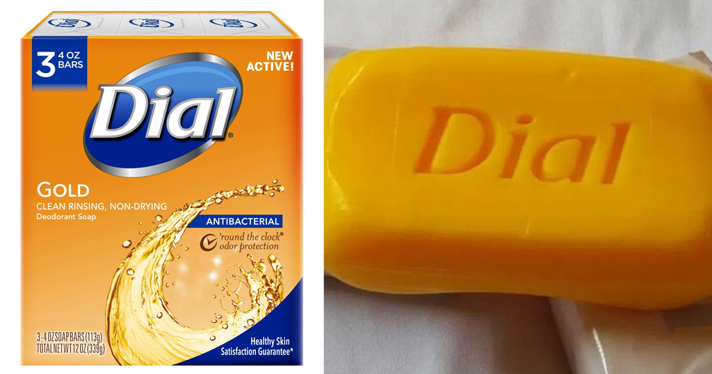 Dial Antibacterial Gold Bar Soap 3-count Just $1.61 on Amazon (Regularly $7)