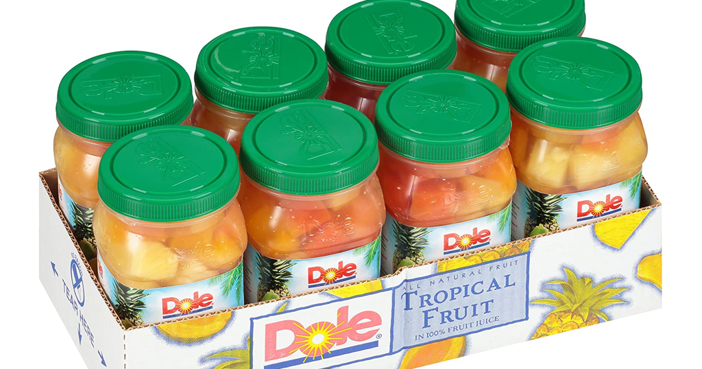 Dole Tropical Fruit Jar 8-Pack – Only $16.64 Shipped on Amazon