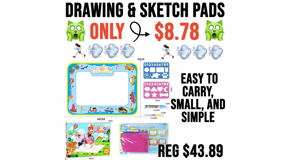 Drawing & Sketch Pads Only $8.78 Shipped on Amazon (Regularly $43.89)
