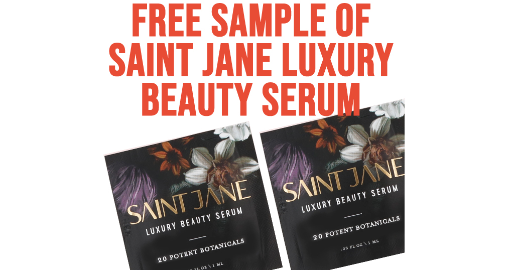 FREE Sample of Saint Jane Luxury Beauty Serum