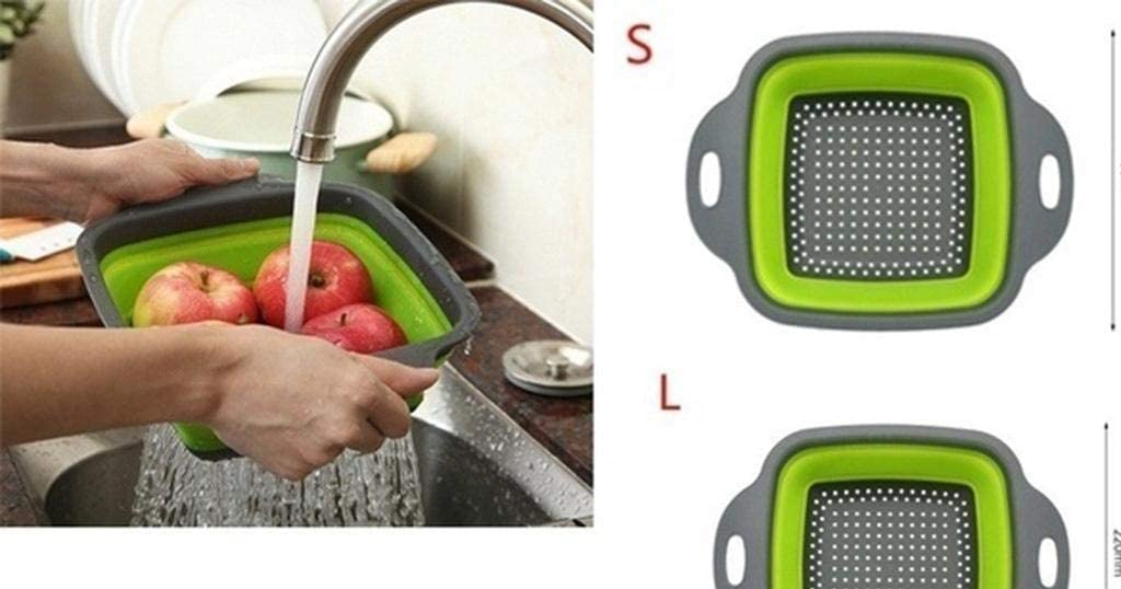 Foldable Square Draining Basket Only $5.29 Shipped on Amazon (Regularly $20.69)