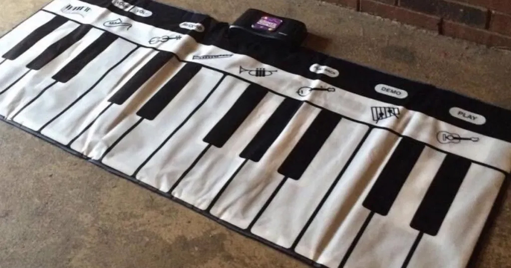Gigantic Keyboard Play Mat Just $22 on Amazon (Regularly $79.99)