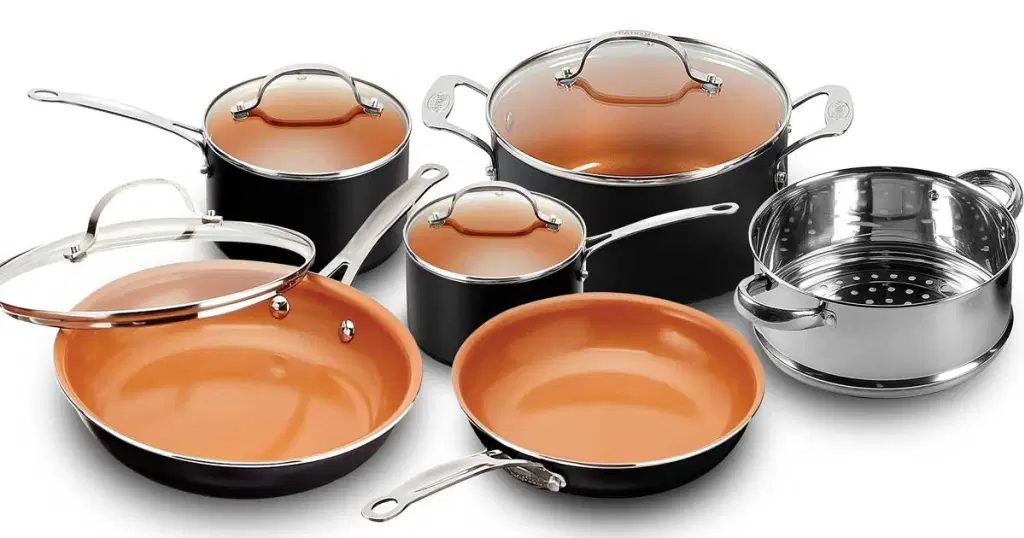 Gotham Steel 10-Piece Cookware Set Just $78 Shipped on Amazon (Regularly $130)