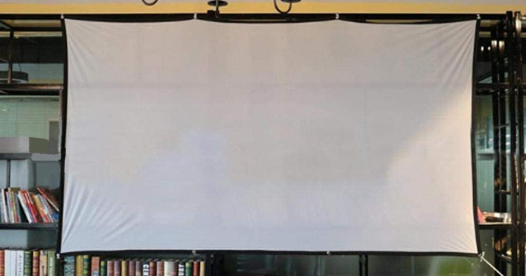 HD Projector Screen Only $11.99 Shipped on Amazon (Regularly $59.90)