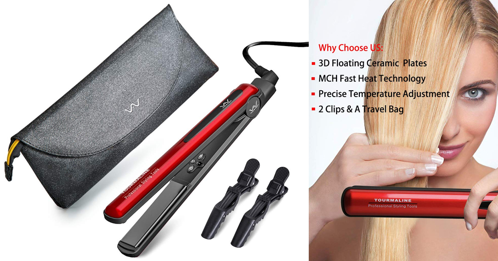 Hair Straightener Iron Only $12.43 Shipped on Amazon (Regularly $31.09)