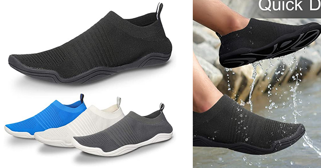 Men Women Water Shoes Only $12.99 Shipped on Amazon (Regularly $25.98)