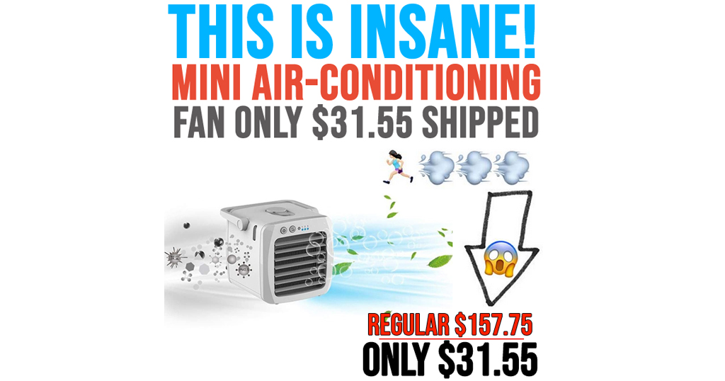 Mini Air-Conditioning Fan Only $31.55 Shipped on Amazon (Regularly $157.75)