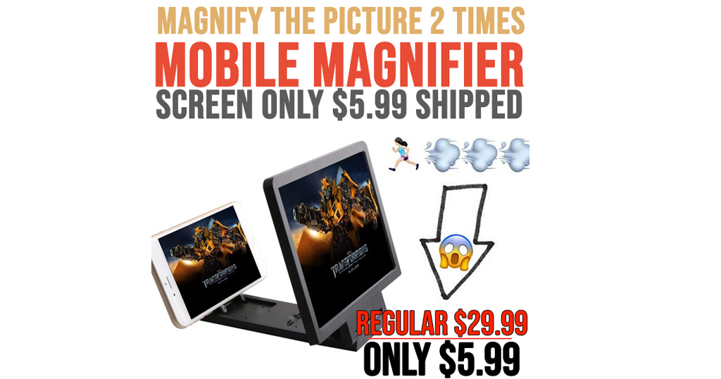 Mobile Phone Magnifier Screen Only $5.99 Shipped on Amazon (Regularly $29.99)
