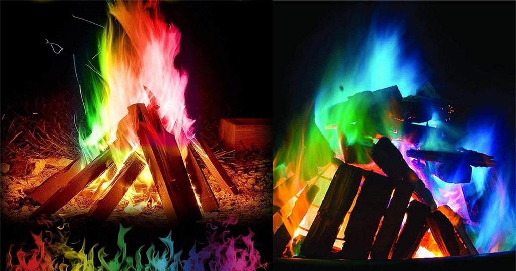 Multicolor Flame Powder For Bonfire Party Only $3.39 Shipped on Amazon (Regularly $16.99)