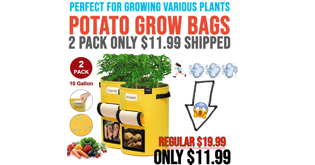 Potato Grow Bags - 2 Pack Only $11.99 Shipped on Amazon (Regularly $19.99)