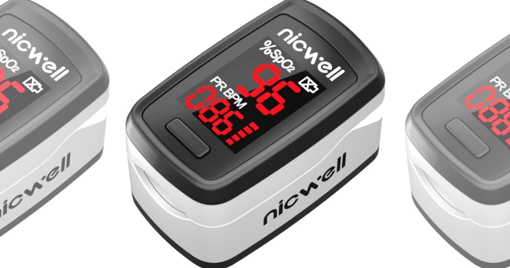 Pulse Oximeter Just $16.99 Shipped on Amazon | Measures Oxygen Level & Pulse Rate Quickly