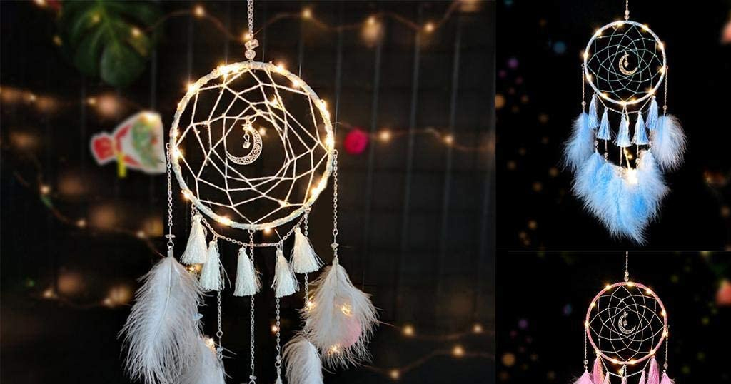 Retro Style Feather Tassel Dreamcatcher Only $10.99 Shipped on Amazon (Regularly $36.63)