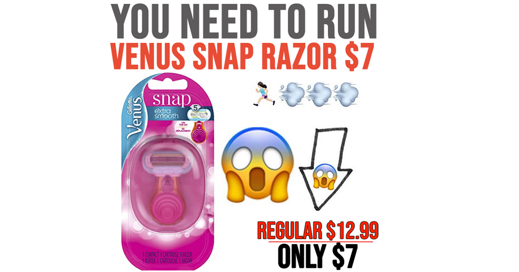 Venus Snap Razor Only $7 Shipped on Amazon (Regularly $12.99)