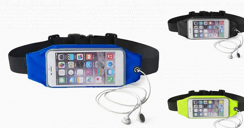 Waterproof Zipper Waist Bag Only $5.54 Shipped on Amazon (Regularly $27.7)