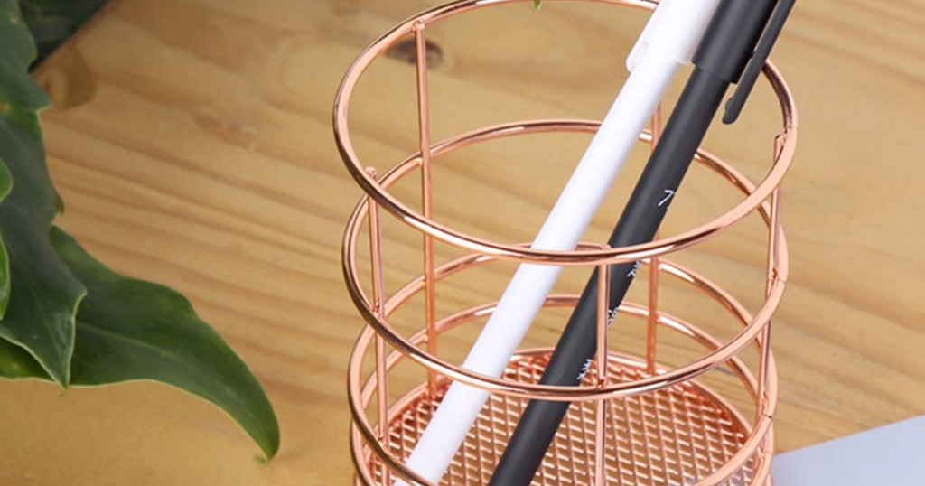 Wire Net Pencil Holder Only $4.99 Shipped on Amazon (Regularly $9.99)