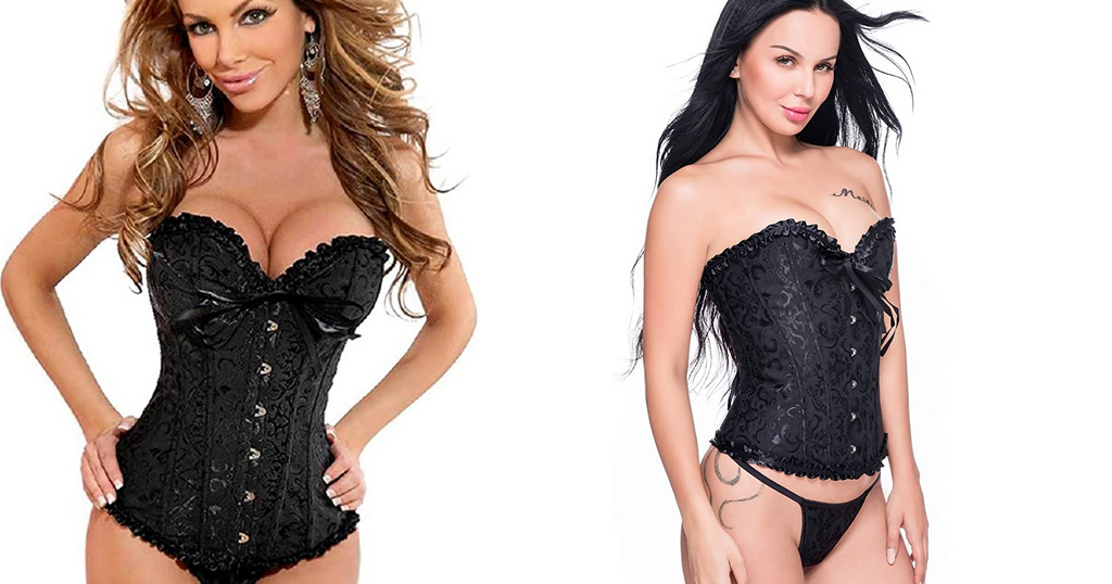 Womens Bustier Corset Plus Only $13.19 Shipped on Amazon (Regularly $21.99)
