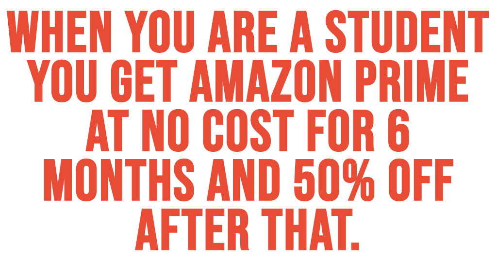 College Students Can Score a FREE 6-Month Amazon Prime Membership