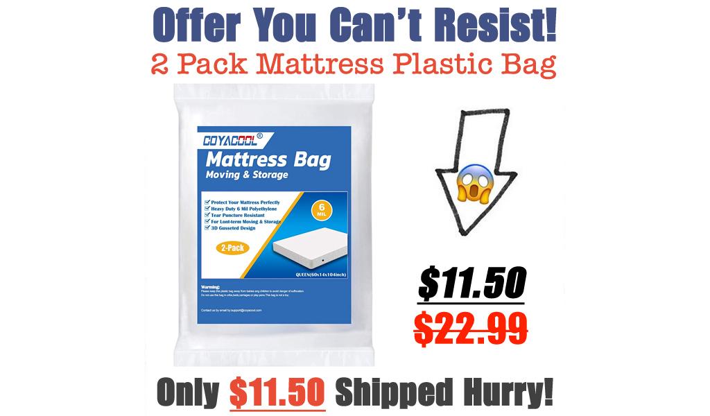 2 Pack Mattress Plastic Bag Just $19.99 Shipped on Amazon (Regularly $22.99)