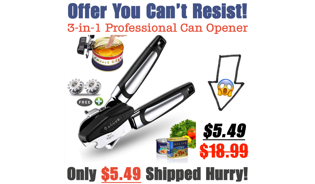 3-in-1 Professional Can Opener Only $5.49 Shipped on Amazon (Regularly $18.99)