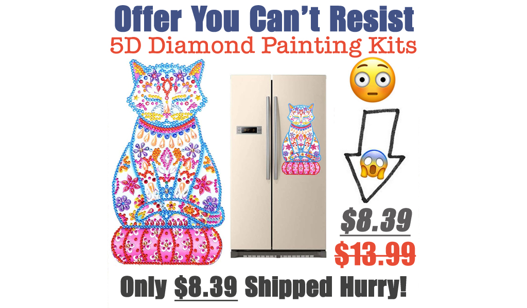 5D Diamond Painting Kits for Kids Only $8.39 Shipped on Amazon (Regularly $13.99)