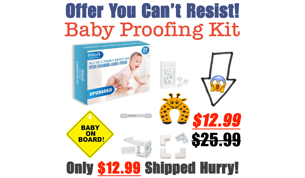 Baby Proofing Kit Only $12.99 Shipped on Amazon (Regularly $25.99)