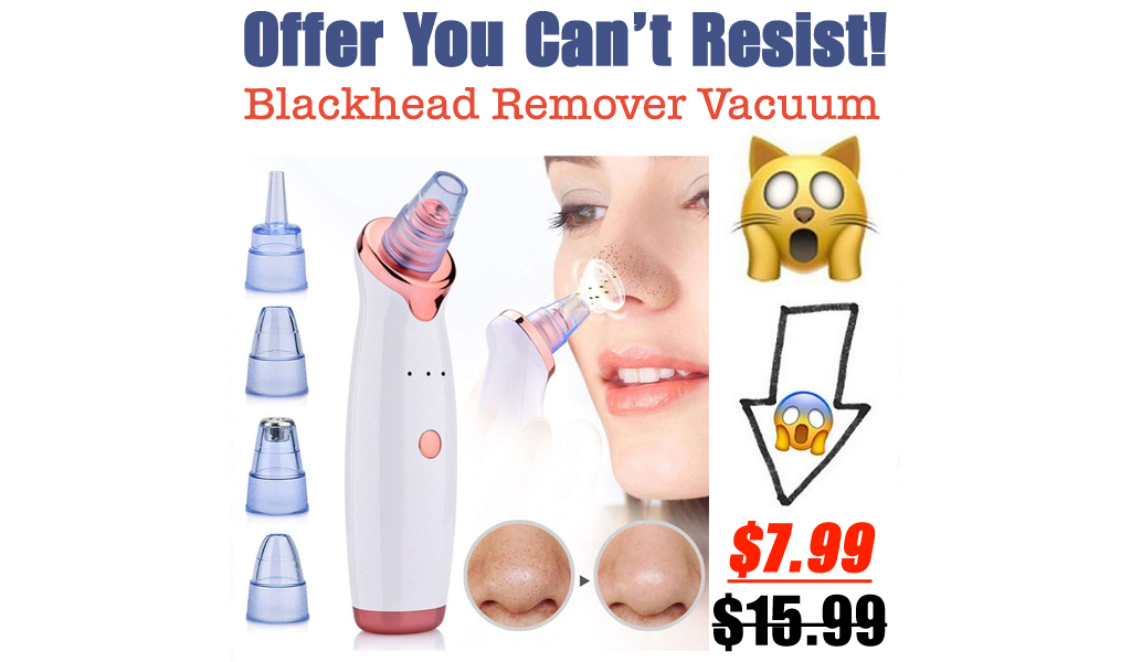 Blackhead Remover Vacuum Only $7.99 Shipped on Amazon (Regularly $15.99)