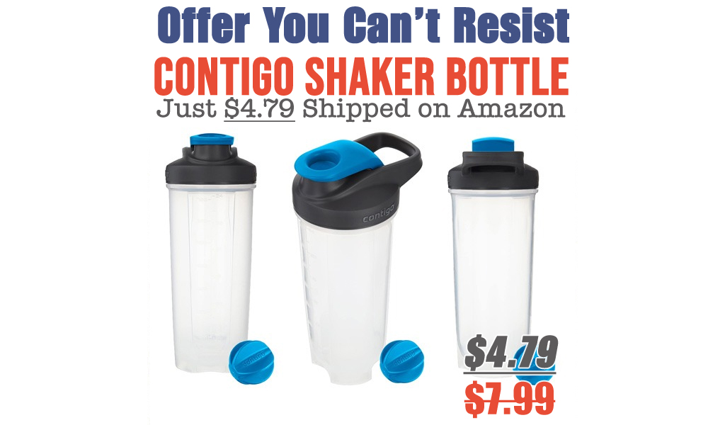 Contigo Shaker Bottle Just $4.79 Shipped on Amazon (Regularly $7.99)