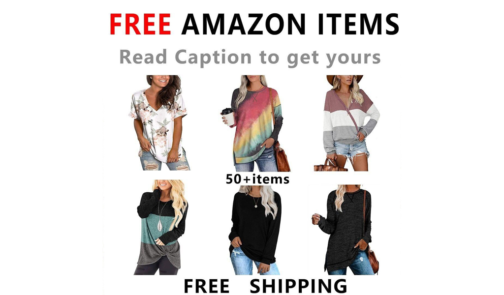 FREE WOMENS SHIRTS FROM AMAZON