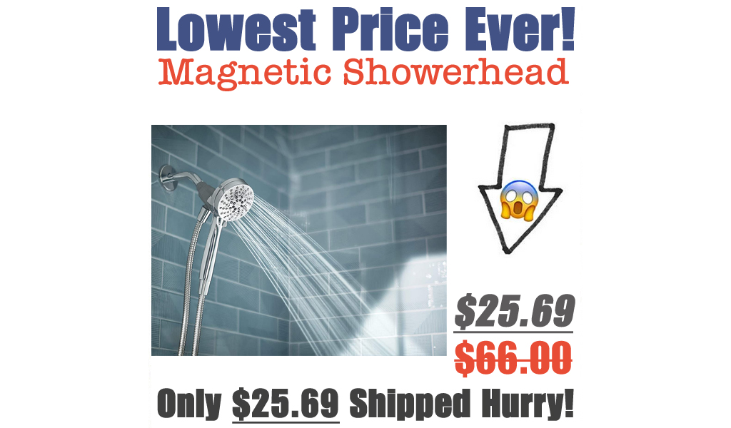 Highly Rated Moen Magnetic Showerhead Only $25.69 Shipped on Amazon (Regularly $66)