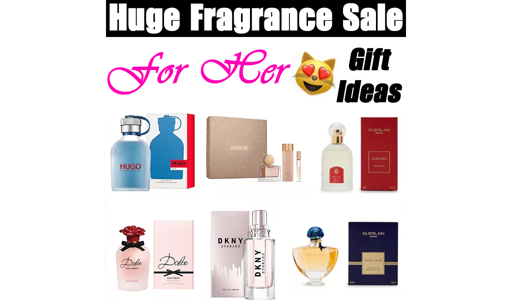 Huge Fragrance Sale on Kohls