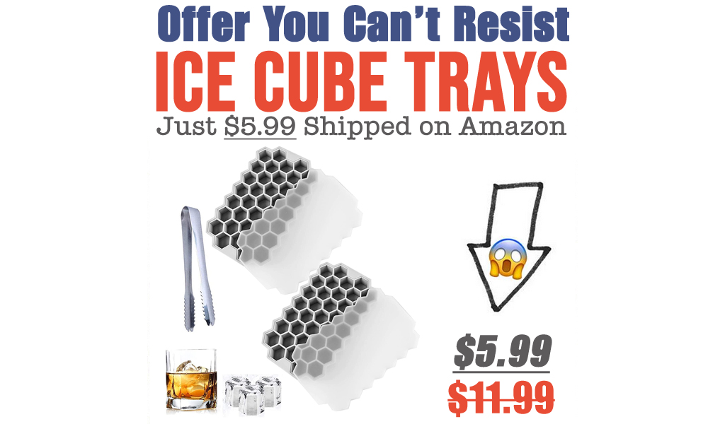 Ice Cube Trays Just $5.99 Shipped on Amazon (Regularly $11.99)