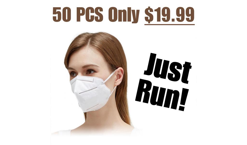 KN95 Masks - 50 PCS Only $19.99 Shipped on Amazon (Regularly $49.99)