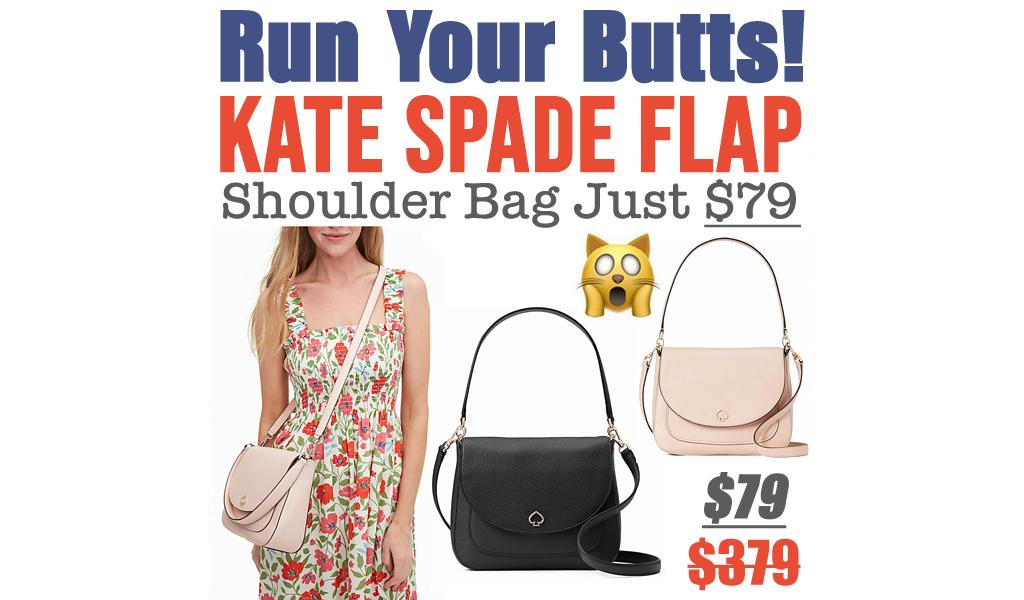 Kate Spade Flap Shoulder Bag Just $79 (Regularly $379)