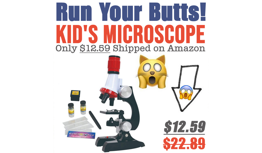 Kid's Microscope Only $12.59 Shipped on Amazon (Regularly $22.89)