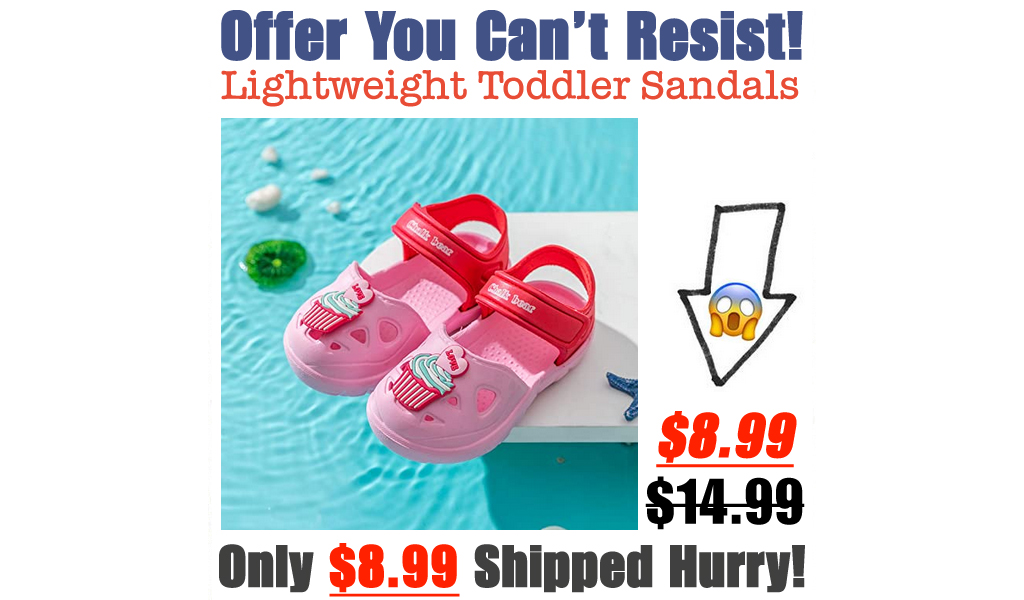 Lightweight Toddler Sandals Only $8.99 Shipped on Amazon (Regularly $14.99)