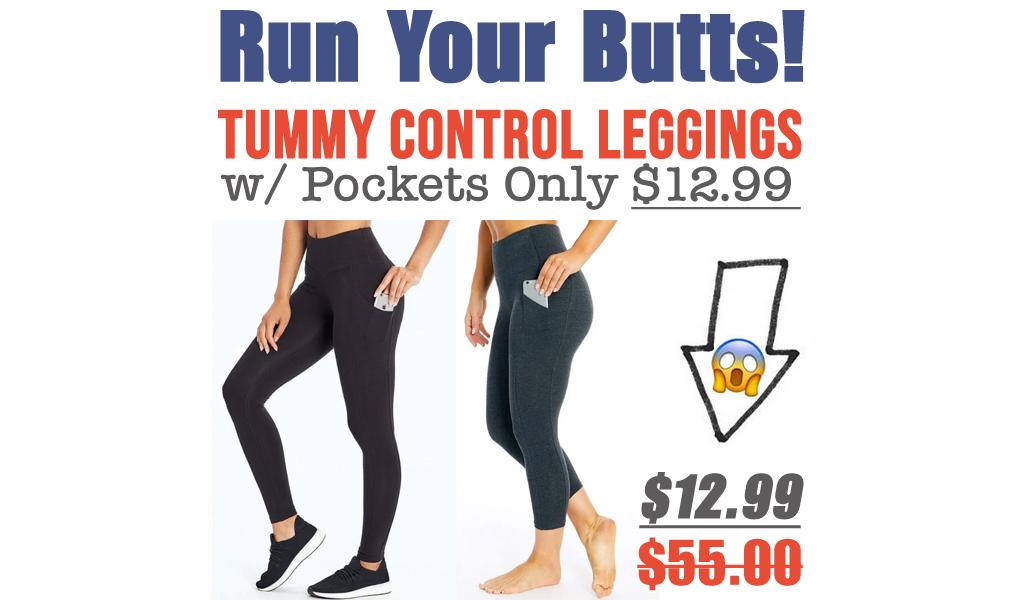 Marika Tummy Control Leggings w/ Pockets Only $12.99 on Zulily.com (Regularly $55)