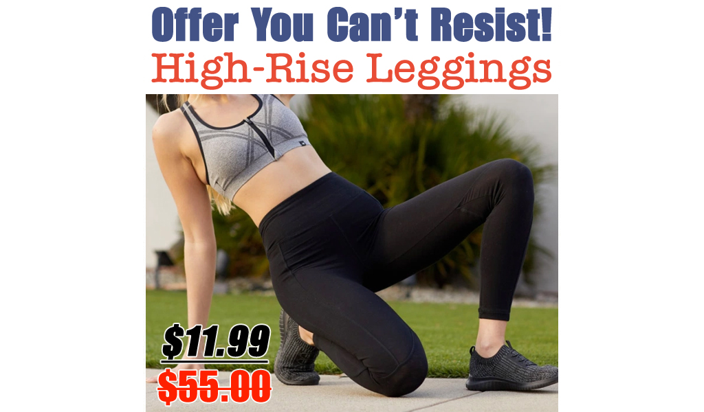 Marika Women's High-Rise Leggings Just $11.99 on Zulily.com (Regularly $55)