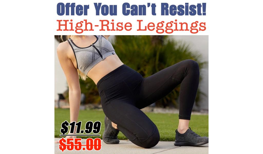 Marika Women's High-Rise Leggings Just $11.99 on Zulily.com (Regularly $55)
